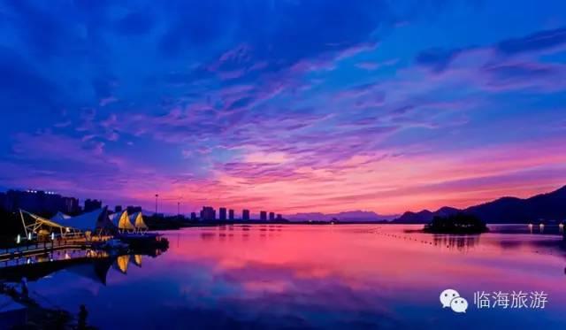 临海灵湖景区地图
