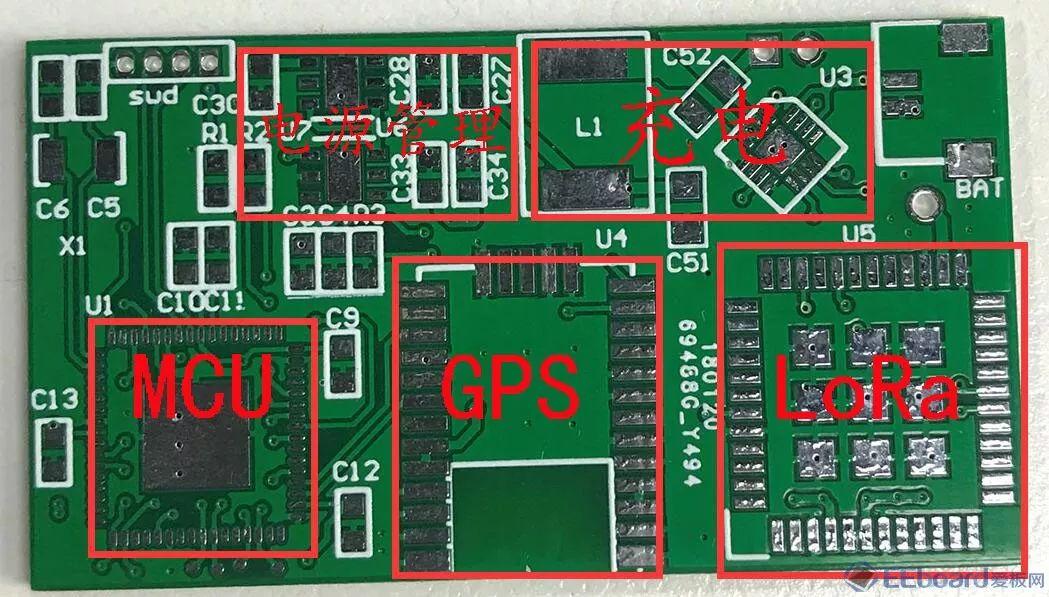 △ 手表外形&装配   ▌ 手表电路板   如图包括,电池接口,gnss