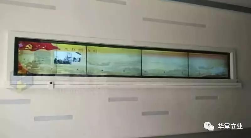 多媒体定制互动展示:滑轨电视!