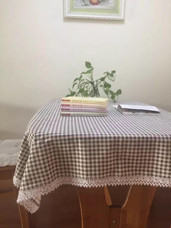 钩针方格编织蕾丝花边桌布,附多款钩针花边图解!