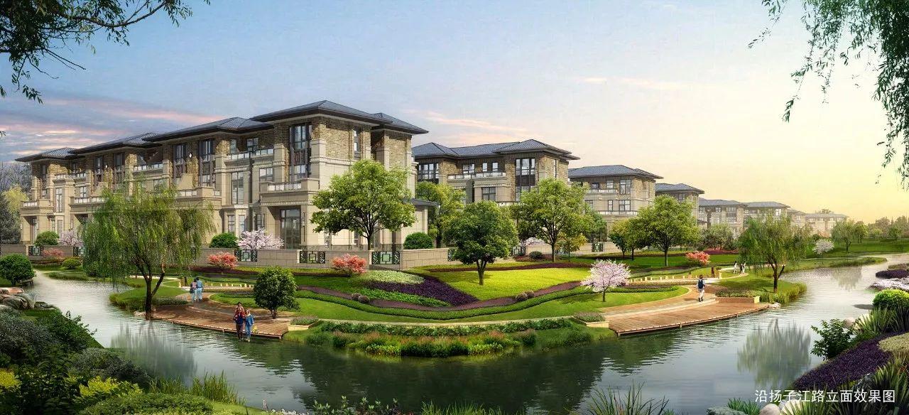 今天,扬州首个v别墅摇号别墅诞生!3成首付终于楼盘植物园图片