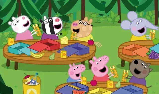 给孩子看的绘本和动画片多以动物为主要角色.