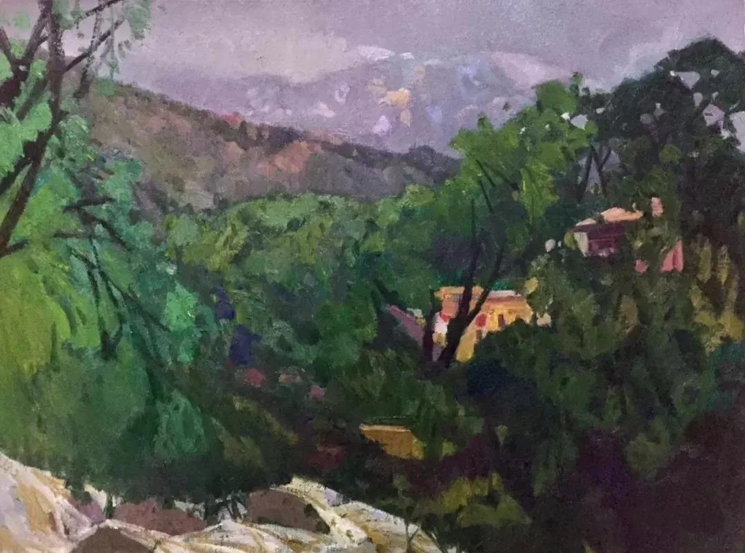 诗性的飞扬:王辉写意风景油画作品欣赏