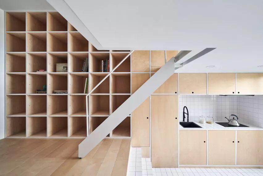 樓梯底廁所設計
