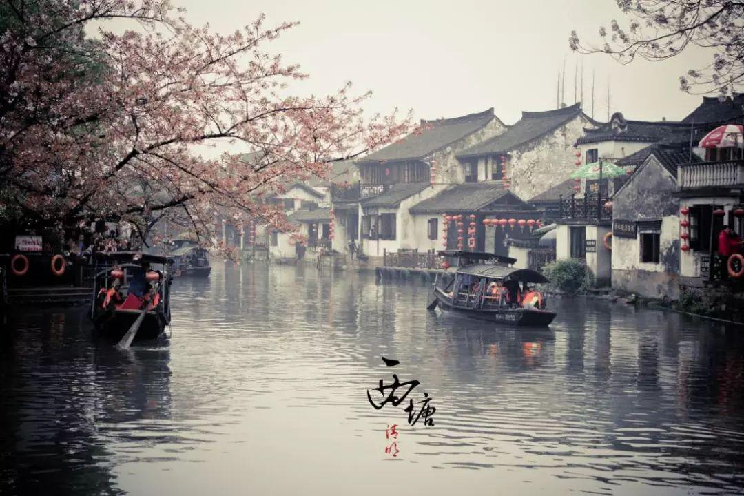 梦里的江南水乡,粉墙黛瓦,小桥流水,桨声灯影,江南人家,在乌镇,最为