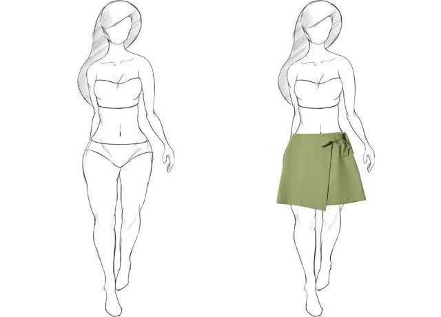 穿搭技巧 | 梨型身材怎么穿?图片