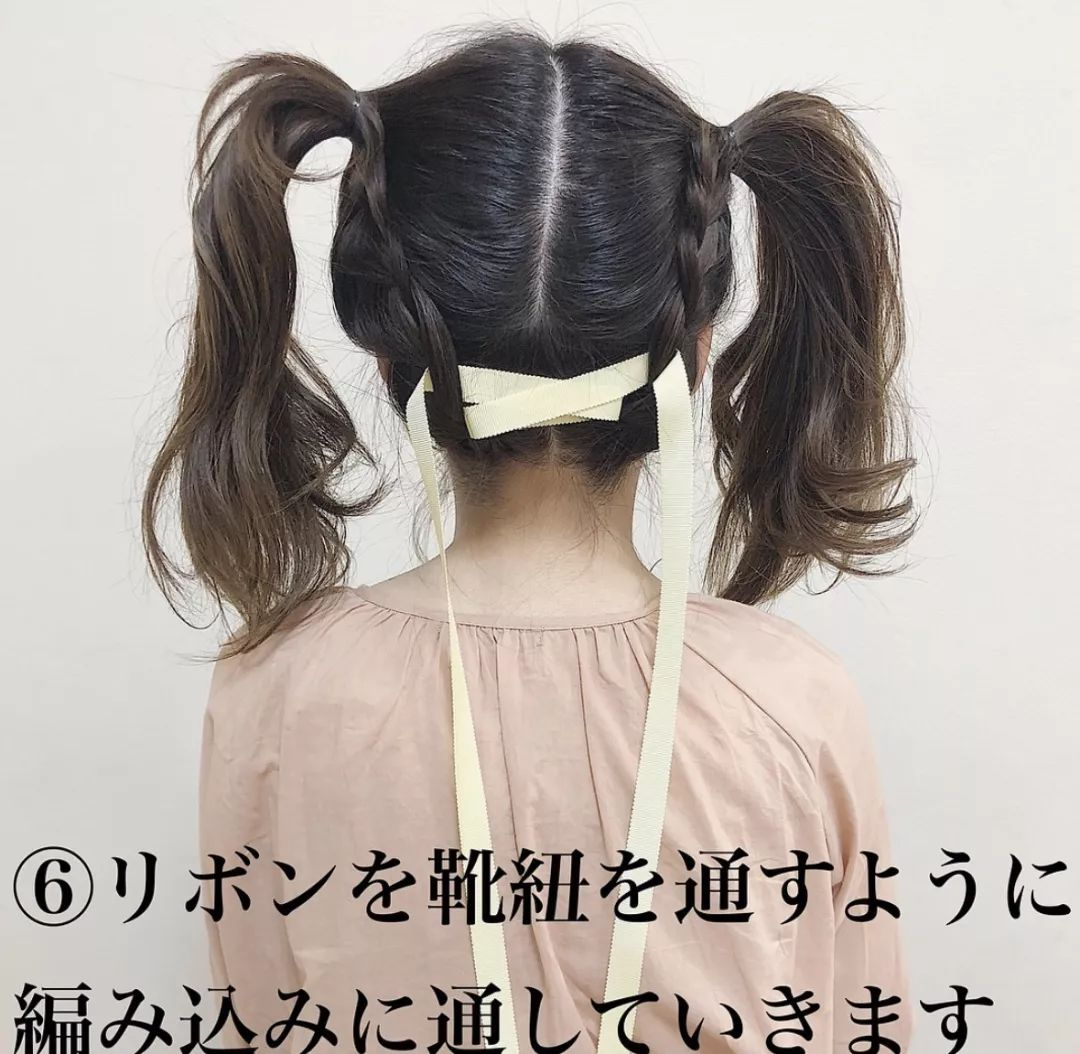 对于以可爱为美的日本妹子来说,   这个发型可以说是可爱