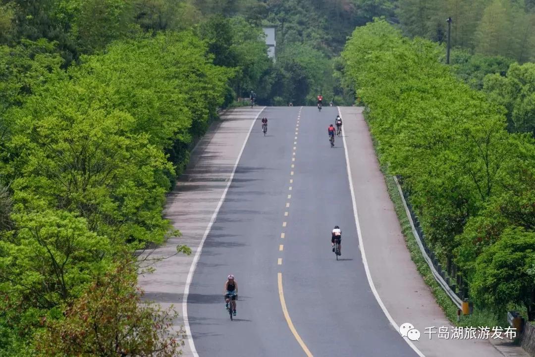 千岛湖的公路环湖而建   沿途连接各乡镇   乡土风情浓郁
