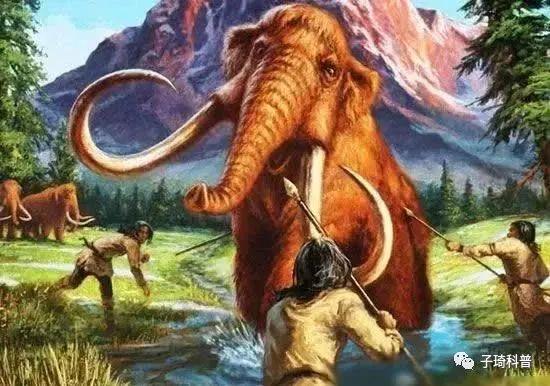 原始森林素材恐龙