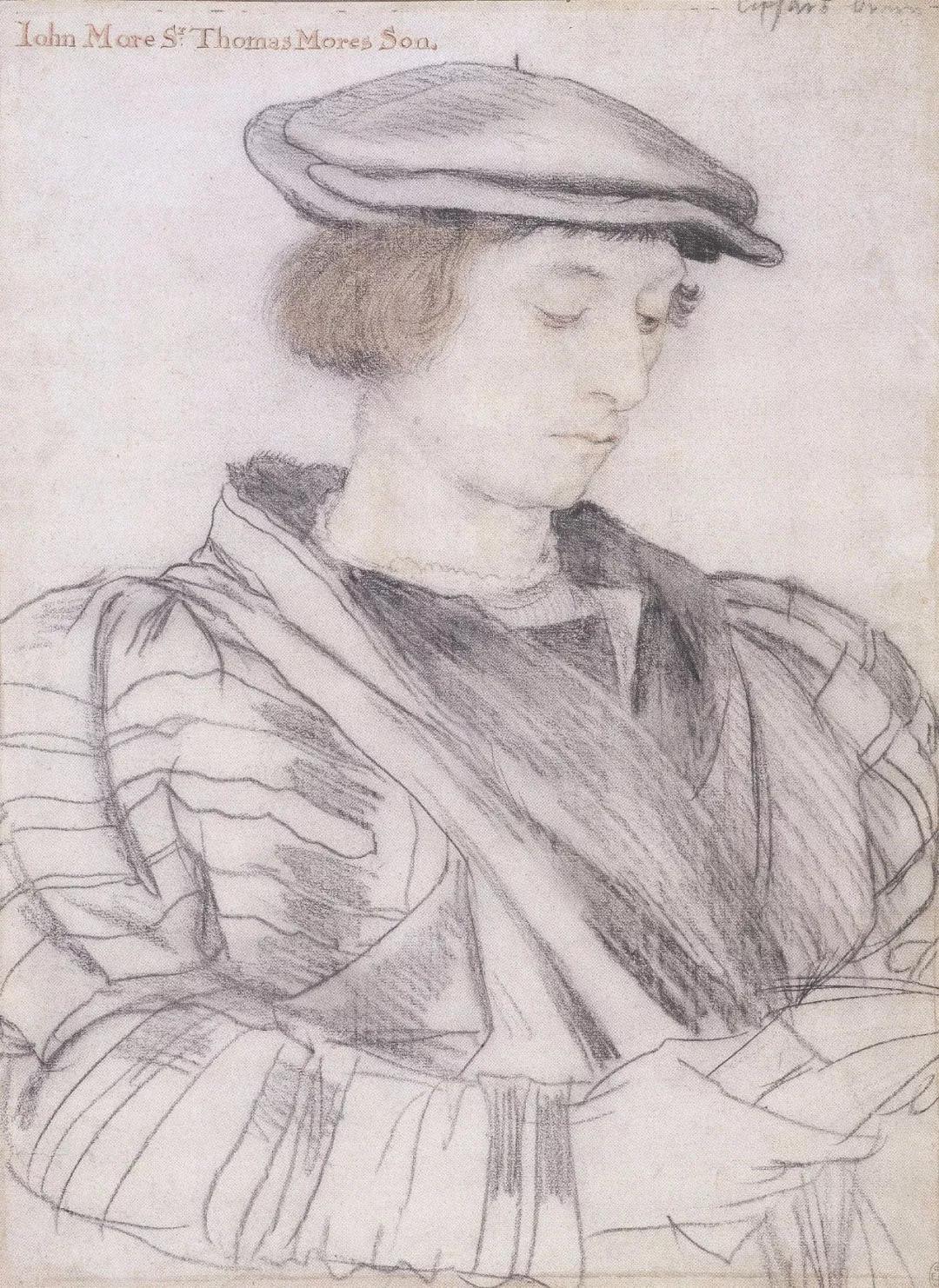 小荷尔拜因的肖像画风格细腻,注重性格和细节刻画,观察深入,毫无戏