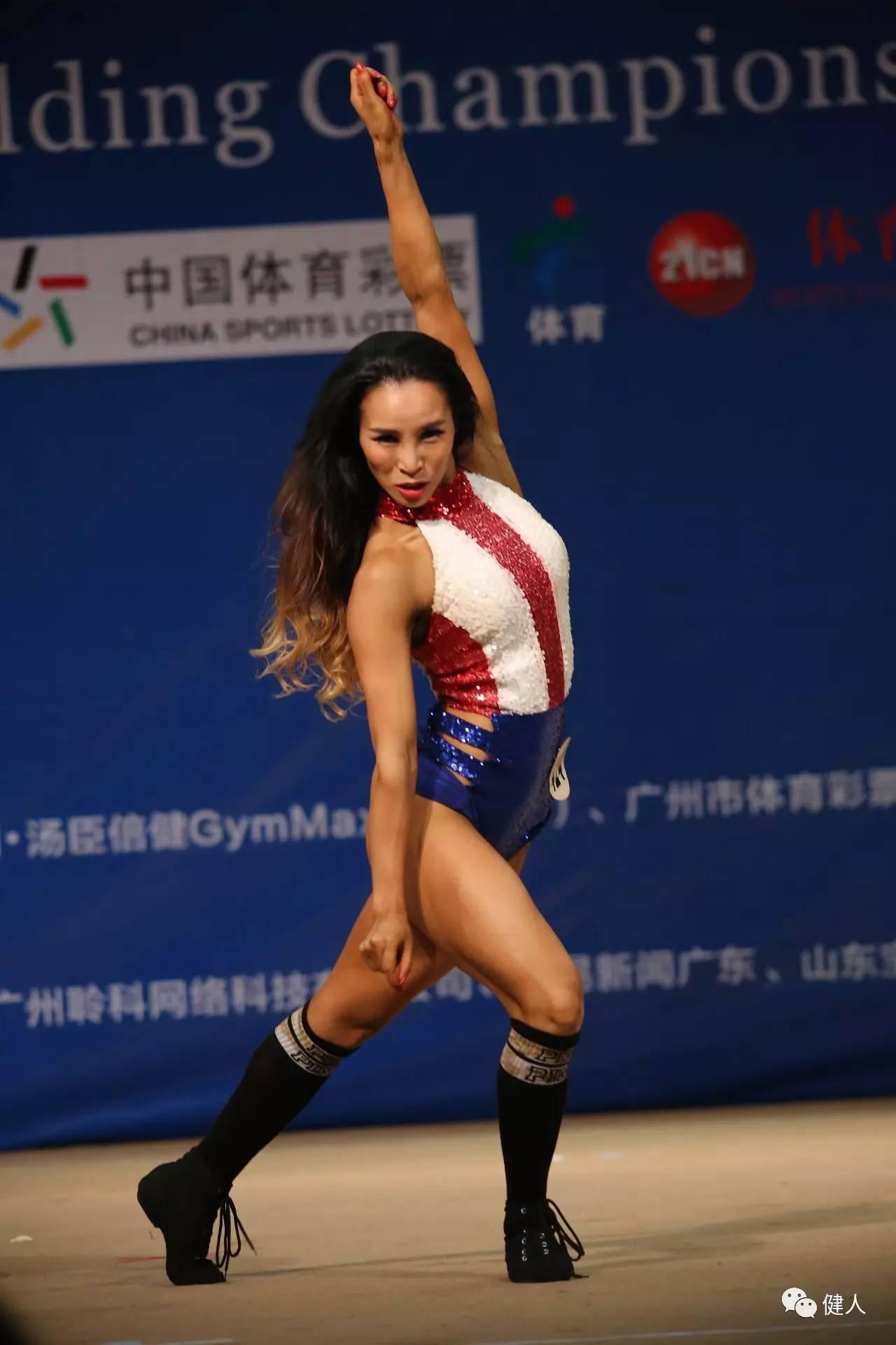 羊城论健LOOKSEE杯广州健身健美锦标赛欢电子竞技的工作图片