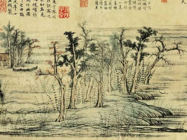 見聞|除了一個是橫幅一個是立軸,兩張「富春山圖」還有什麼不同?