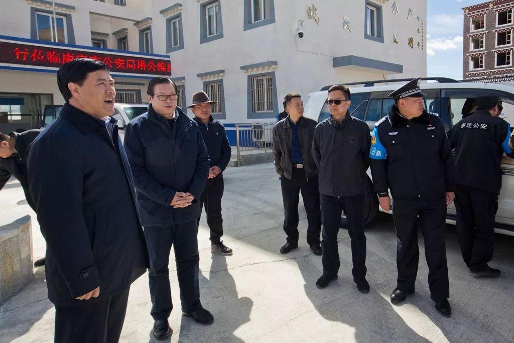 省委常委、省委政法委书记邓勇一行莅临塔公卡