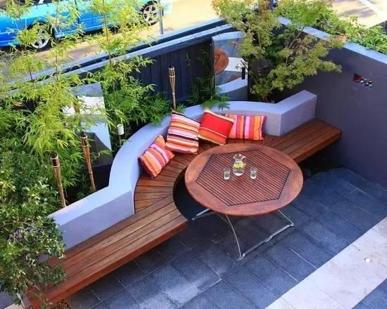 100平米庭院設計效果圖