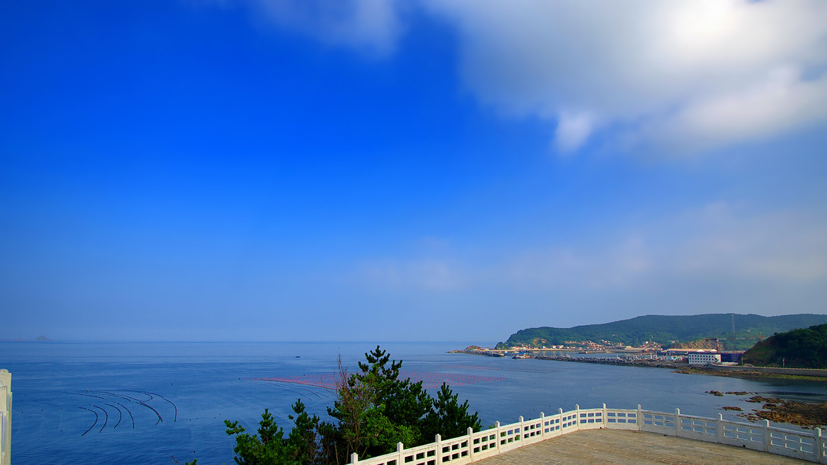 最佳旅游时间:5月--9月      6         獐子岛的最大