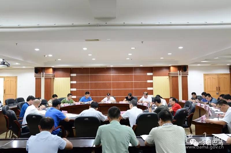 巴马召开专题研究深度贫困村好合村精准扶贫工作会议