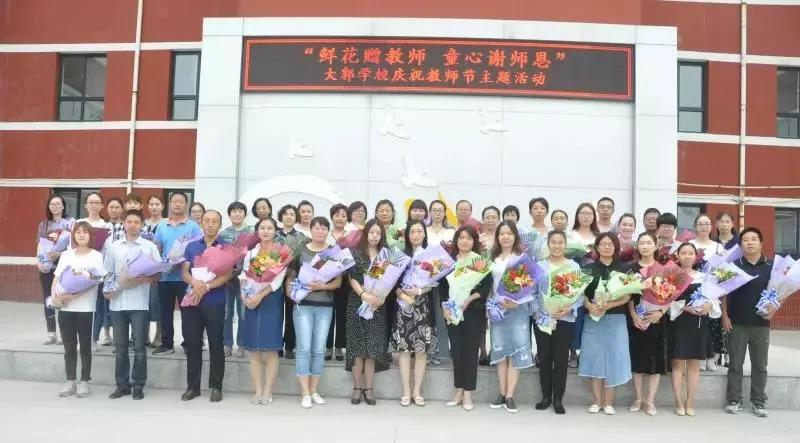 石家庄最全幼儿园,小学,中学教师集体照来啦!你能认出