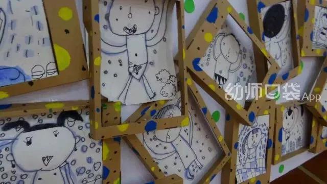 幼儿作品创意说明