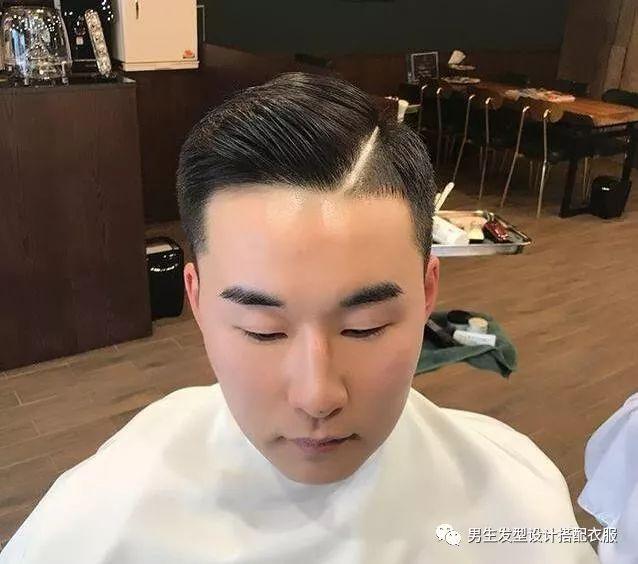 2018潮流男生短发发型