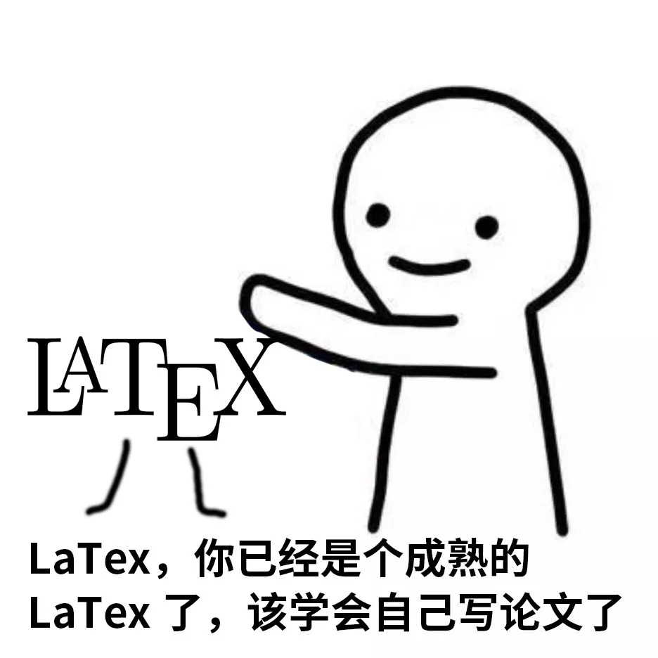你已经是个成熟的latex了,该学会自己写论文了  树洞