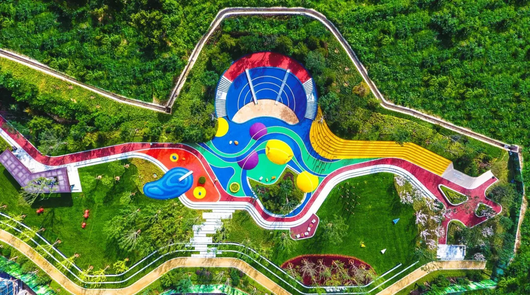 欢乐山谷儿童主题公园 实景拍摄