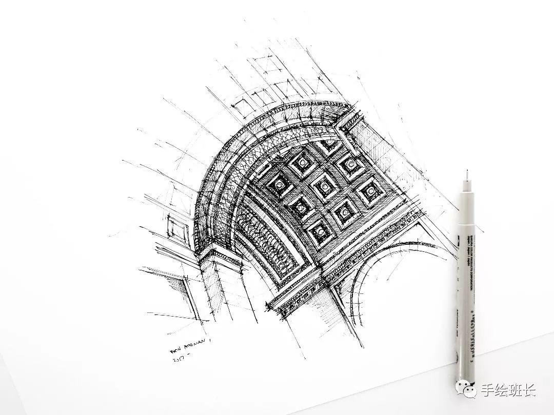 巴黎凯旋门天花板