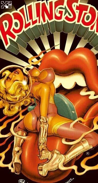 英雄豪杰100905穿着绘画的春宫画的面具叔叔成了日本艺术家舒摇滚杰利贝恩野生插图
