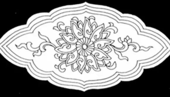 宝相花,是将自然界花卉(主要是莲花)的花头做艺术处理,使之图案化