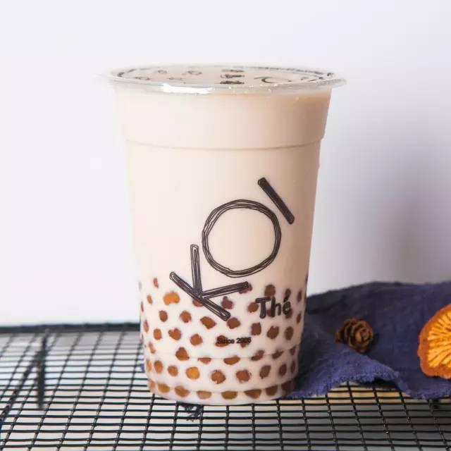 奶茶界白富美KOI新店开启!一口暖化的冬季美味