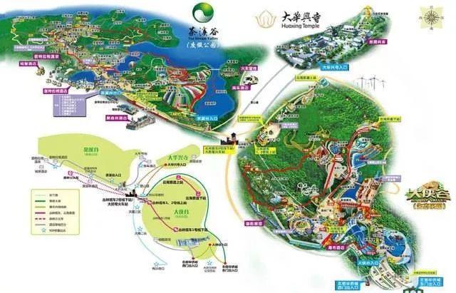 附近公交车站:   茶溪谷站:909路   由深圳市中心至东部华侨城