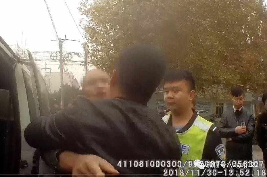 嚣张禹州男酒后驾驶出事故、阻碍执法辱交警,被依法拘留十日舒服啦!