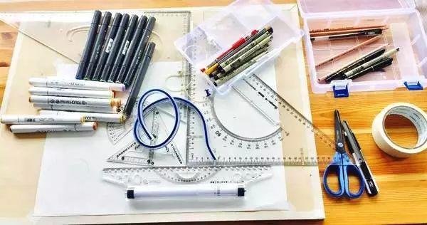 手绘-实用马克笔手绘装备攻略