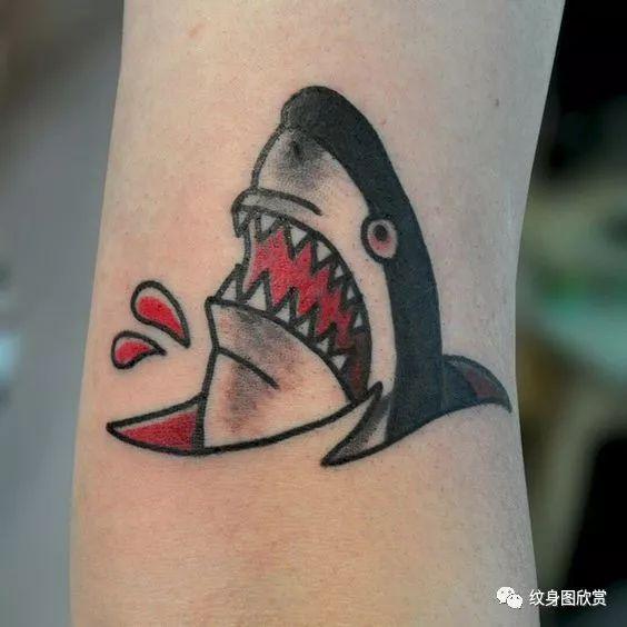 鱼纹身 - 【鲨鱼】纹身图案