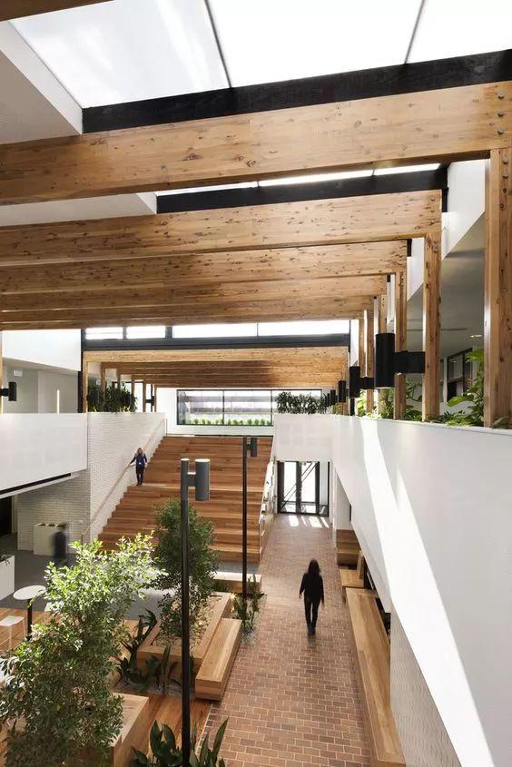 原来建筑中庭还可以这样设计!