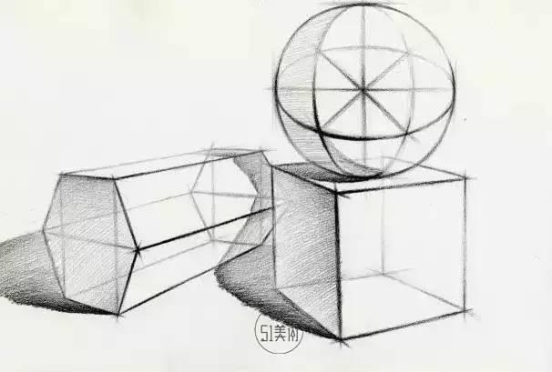 【教程】素描静物结构,看这一篇教程就够了