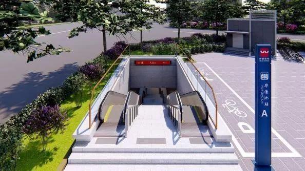 速来围观西安地铁临潼线出入口,风亭等设计方案