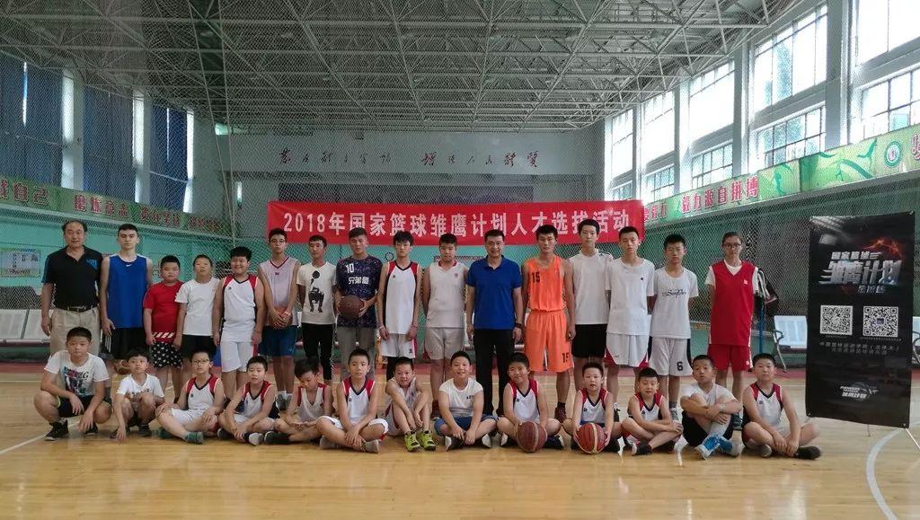 篮球热点高中计划选拔站--乌鲁木齐国家历史雏鹰图片