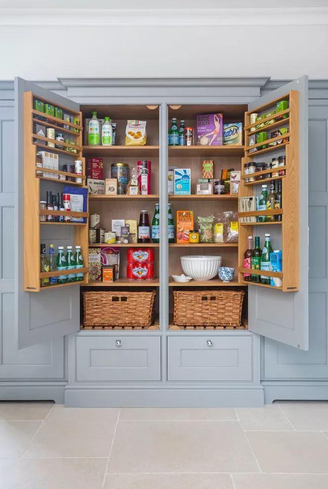 廚房櫥柜內部的設計能多精彩?你絕對想象不到