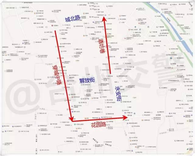 台州各地最全单行道汇总来啦!(附地图