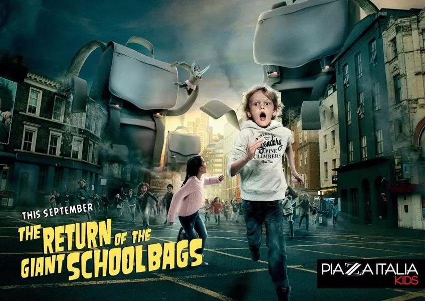 开学季创意大比拼!品牌热点海报来一波!