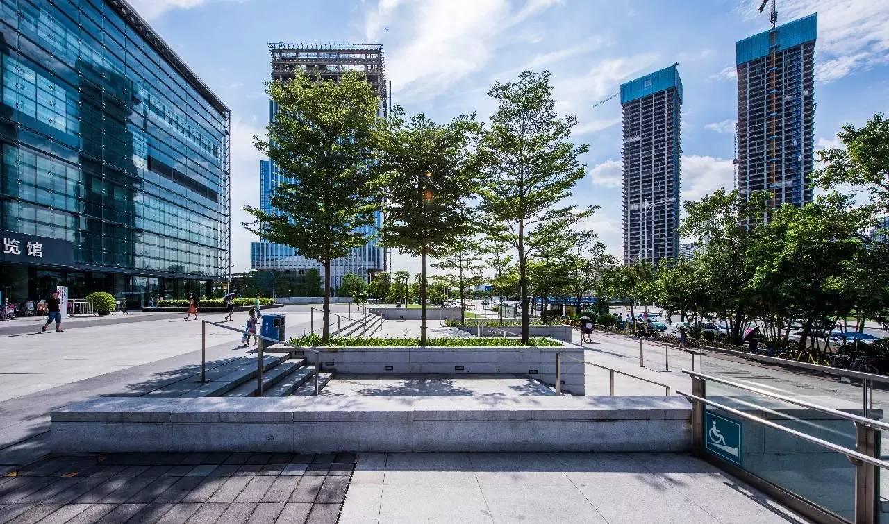 宝安深圳图书馆荣获2017年全国优秀园林工程pscs6怎么字体的平滑设计图片