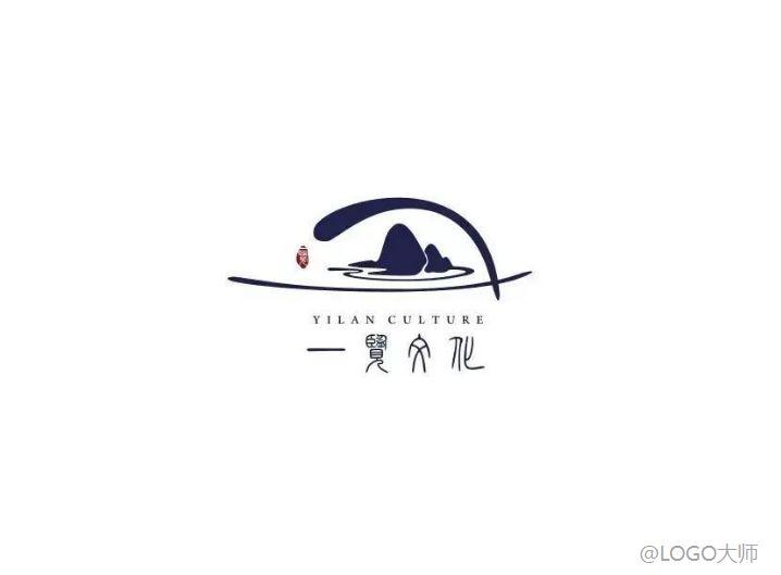 山水主题logo设计合集鉴赏!图片
