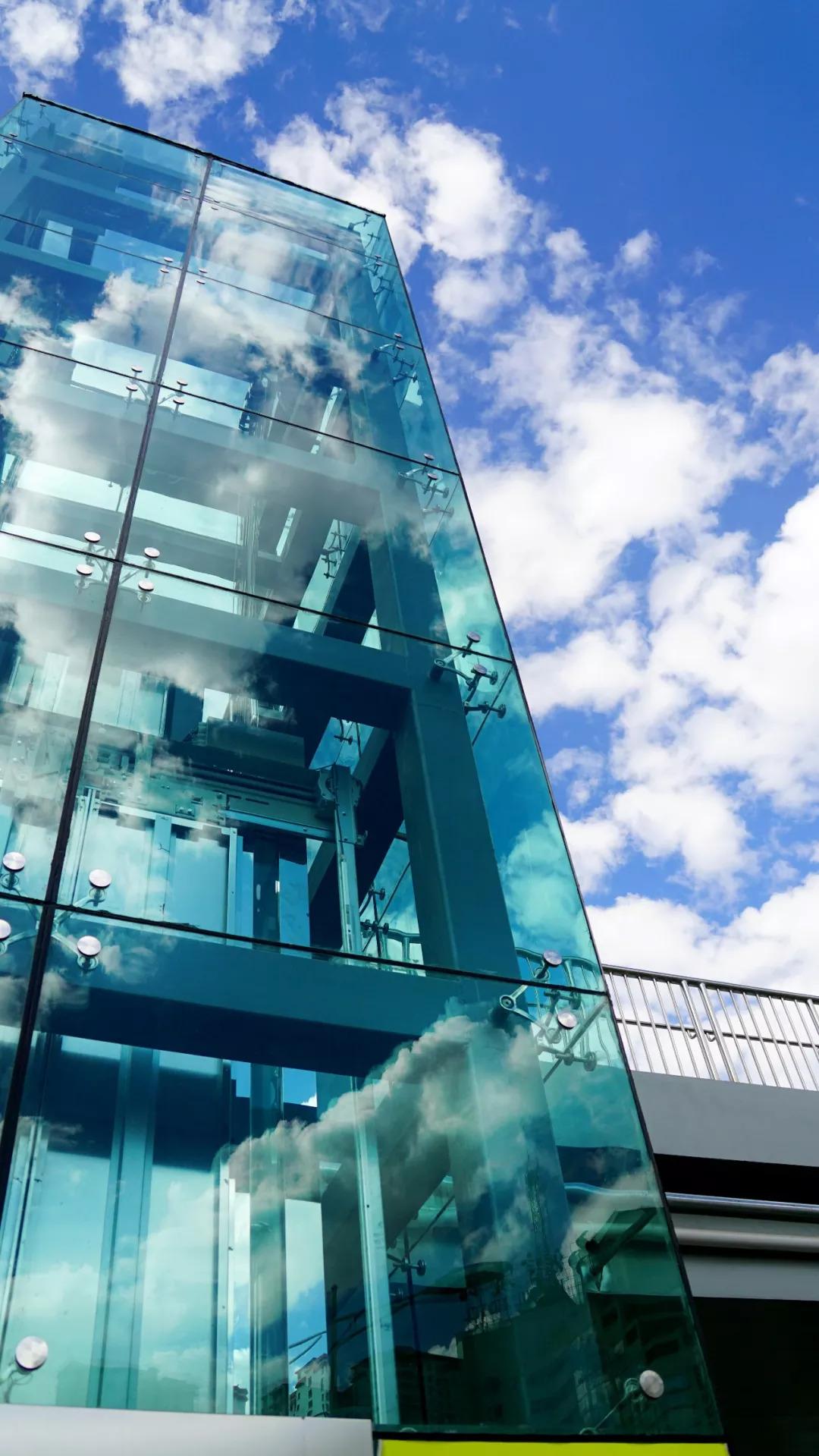 哇塞~西宁每座过街天桥都要装直升电梯2007用cad虚线画怎么图片