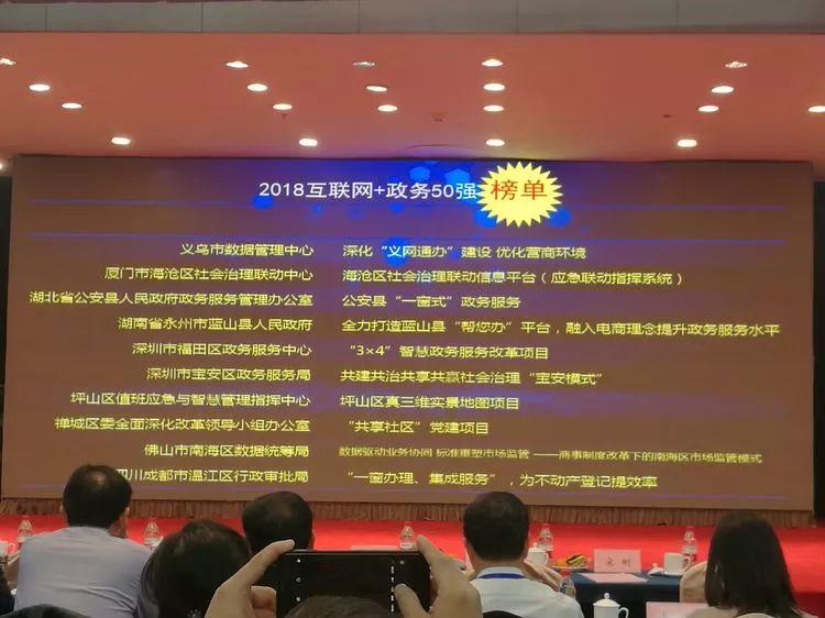 """海沧这一智慧平台再获""""国字号""""殊荣,而且还是四连冠"""