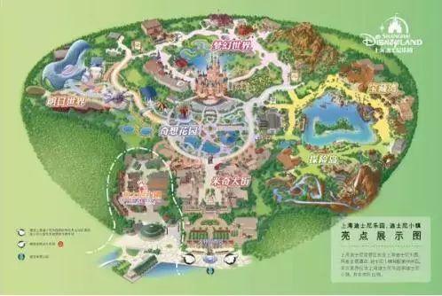 城堡分布结构图