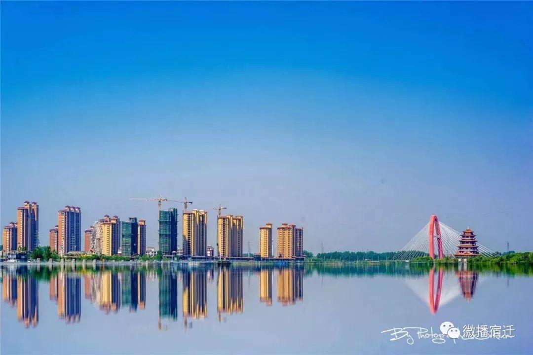 泗陽運河風光帶