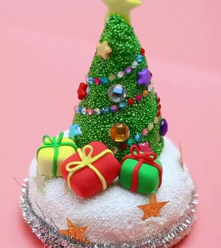 《爱食玩》超可爱圣诞小麋鹿蛋糕!
