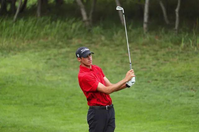 美巡系列赛-中国烟台锦标赛首轮 25岁美国球员温斯洛领先1杆