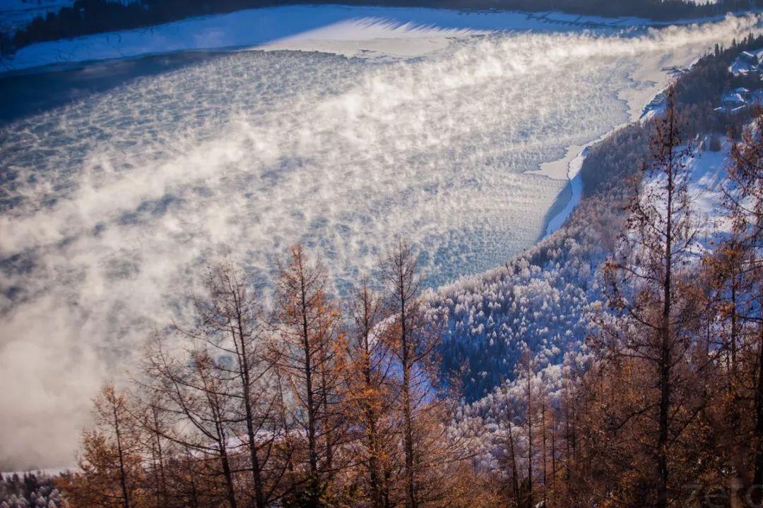 新疆的冬天,美得不像话