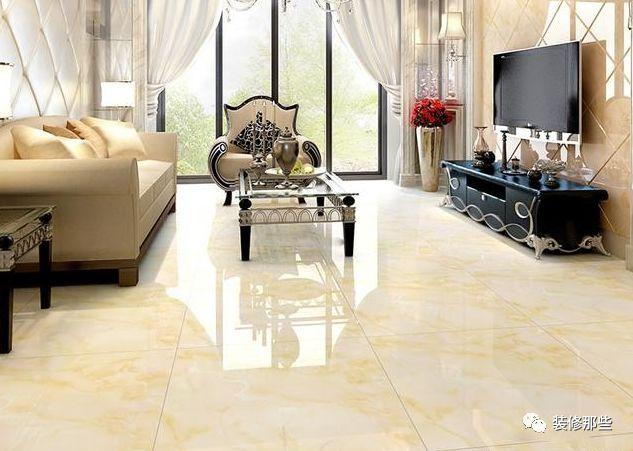 客厅装修效果图-客厅地板砖贴图